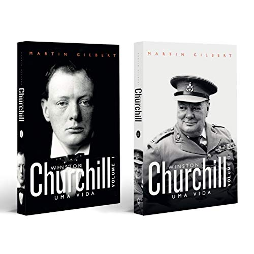 Combo Churchill - Biografia Completa - 2 Livros