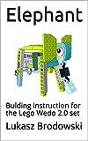 Elephant: Bulding instruction for the Lego Wedo 2.0 set