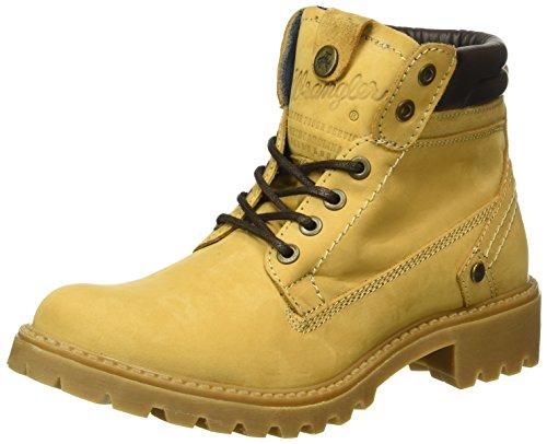 Wrangler Damen Creek Kurzschaft Stiefel, Gelb (24 Tan Yellow), 36