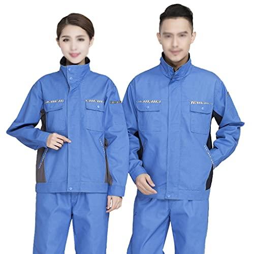 BBGS Traje de Caldera para Hombre,Mecánica Tapa Protectora Polialgodón en General Pantalones y Abrigos Pantalón Boilersuit (Color : Style 5, Size : S)