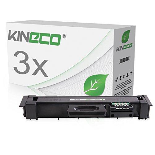 3 Toner kompatibel zu MLT-D116L MLTD116L für Samsung Xpress M2835DW/SEE, Xpress M2825ND/SEE, Samsung Xpress M2675FN/XEC, SL-M2625, SL-M2875 - MLT-D116L/ELS - Schwarz je 3.000 Seiten