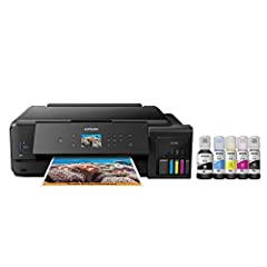 Epson strongly recommends the use of Genuine Epson inks for a quality printing experience. Non Epson inks and inks not formulated for your specific printer may cause damage that is not covered by the Epson warranty. Cartridge-free printing — comes wi...