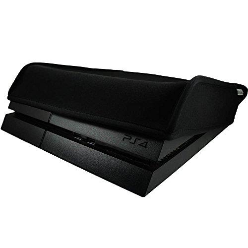 Pandaren prova di polvere neoprene cover manicotto della copertura per Sony PS4 console orizzontale posizione (nero)