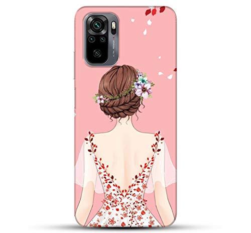 Pikkme Beautiful Girl Designer Redmi Note 10 Pro Cover for Girls
