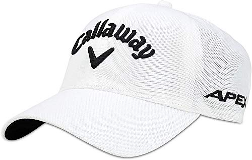 Callaway Ta Seamless Gorra de béisbol, Blanco (Blanco 5219014), Medium (Tamaño del...