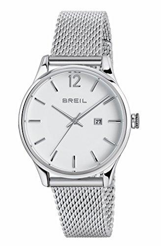 Breil Damen Analog Quarz Uhr mit Edelstahl Armband TW1567