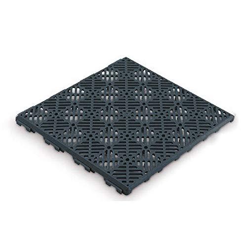Antihumedades Pack 12 Loseta Suelos ventilada 30x30cm (Gris)