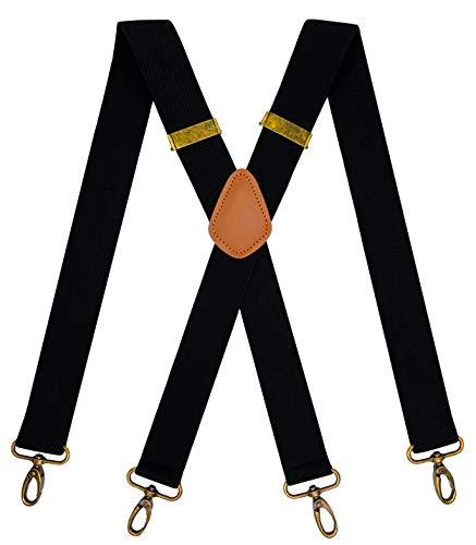 7. MENDENG Vintage Swivel Suspenders for Men