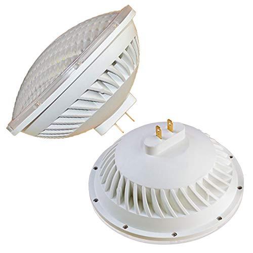 BAOMING PAR56 GX16D Base 26W 230V Ampoules LED ampoule équivalent 300W 500W halogène, Large Faisceau Angle du faisceau Blanc Chaud 3000 K éclairage intérieur