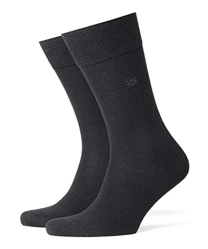 Burlington Herren Leeds M SO Socken, Blickdicht, Schwarz (Black 3000), 40-46 (UK 6.5-11 Ι US 7.5-12)
