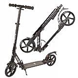 Apollo XXL Wheel Scooter 200 mm - Spectre Pro es un City Scooter suspensión Doble, City Roller XXL Plegable y Ajustable en Altura, Grande Kick+B3 Scooter para Adultos y niños