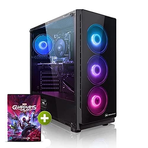 PC Gaming - Megaport Ordenador Gaming PC AMD Ryzen 5 3600 6x4.20GHz Turbo • GeForce RTX 3070 6GB • 1000GB SSD • 16GB DDR4 • WLAN • Windows 10 • PC Gamer • Ordenador de sobremesa