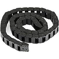 YOTINO Cadena de arrastre para enrutamiento de cables Cadena de arrastre de cable Cadena de energía de alta calidad Cadena de arrastre para impresora 3D (10 * 20 mm, 1 metro)