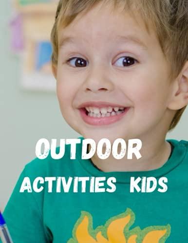 Outdoor Activities Kids: Activity Book