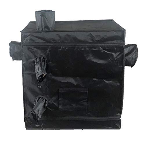 TFACR Grow Box Zelt 80X80x45cm Aluminiumfolie Grow Bud Dark Room Zelt, Pflanzenzüchtung Lichtdichtes, Reißfestes, Wasserdichtes Tuch Für Farmer Growzelt Indoor Home Airy Zelt