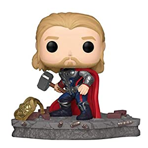 Funko Pop! Deluxe, Marvel: Avengers Assemble Series – Thor, Amazon Exclusive, Figure 4 of 6