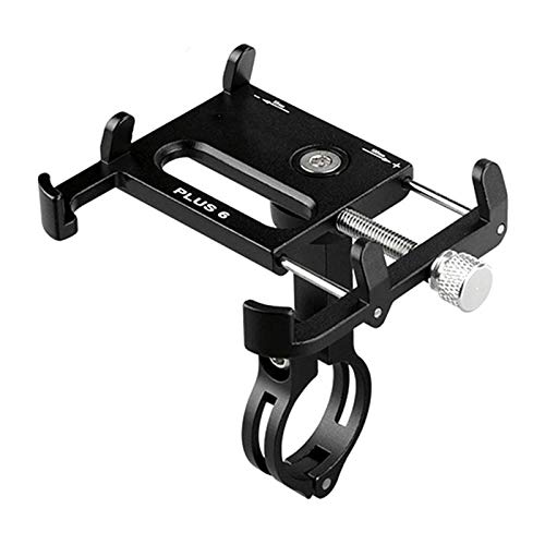 MYBHD Aluminum Alloy Bicycle Mobile Phone Bracket Bicycle Mobile Phone Bracket Mobile Bracket Bike accessories (Color : G81 Titanium)