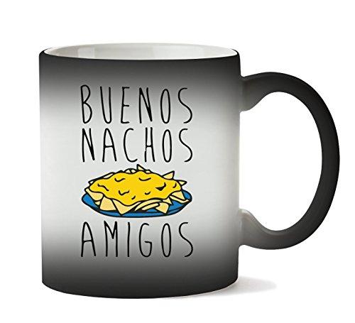 C+P Buenos Nachos Amigos Funny Tasse Hitze Farbwechsel