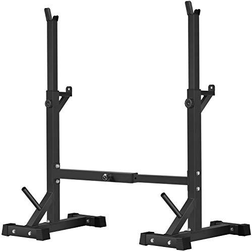 BangTong&Li Squat Rack Stand,Barbell Rack,Bench Press Rack Stand Home...
