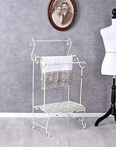 Handtuchständer Landhausstil Handtuchhalter Handtuchstange Metallstaender AJA182 Palazzo Exklusiv