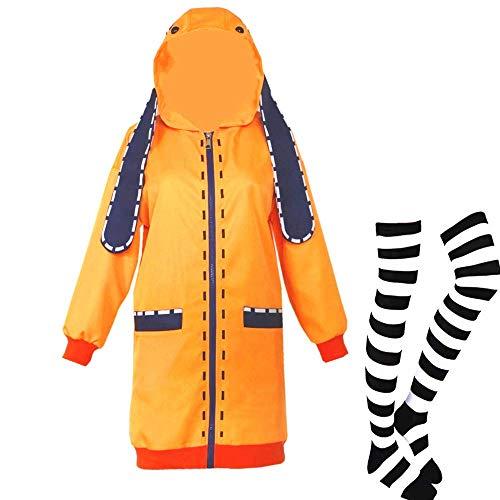 Yomoduki Runa Costume Jabami Yumeko Cosplay Coat (Jabami Yumeko Cosplay Coat, L)