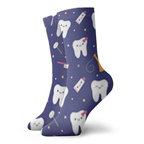 Not Applicable Anzug-Socken,Business Socken,High Performance Tennissocken,Sport/Sneaker Socken,Dental Dentist Moisture Control Laufsocken Langlebige Atmungsaktive Trainingssocken