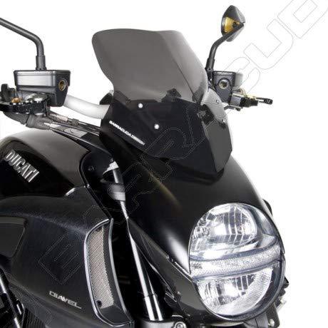 Cúpula Barracuda Aerosport para Ducati Diavel '10-'13