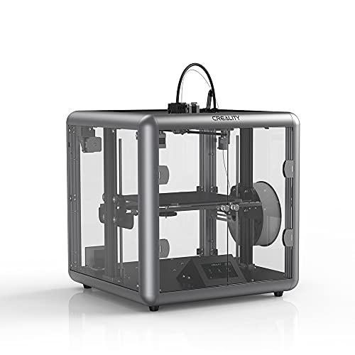 ASPZQ Creality Sermoon D1 Enclosed 3D Printer Machine Silent Mainboard 4.3 Inch Color Touchscreen 280x260x310mm Printing Size