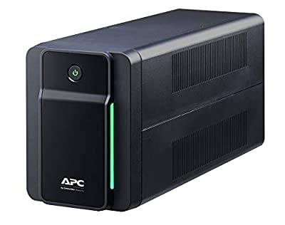 APC Back UPS 750VA - BX750MI - UPS Battery Backup & Surge Protector, Backup Battery with AVR, Dataline Protection, Uniterruptible Power Supply BX750MI