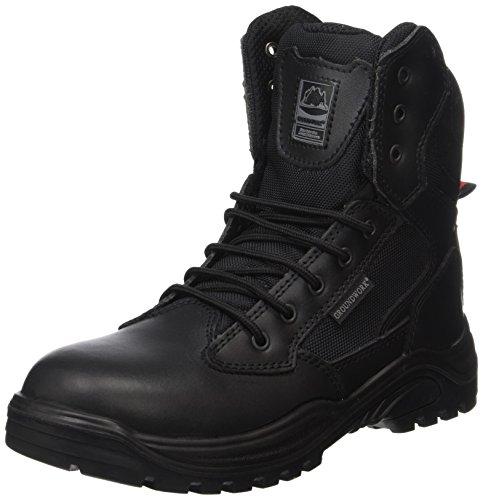 Groundwork Zapatos para Hombre , Negro, 42 EU (8 UK) (Zapatos)