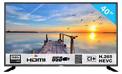 HKC 40F1N: 102 cm (40 Zoll) LED Fernseher (Full HD, Triple Tuner, CI+, HDMI, Mediaplayer per USB 2.0) [Energieklasse A]