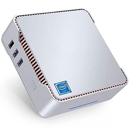 NiPoGi Mini PC,8GB DDR4/128GB ROM Windows 10 Pro Intel Celeron