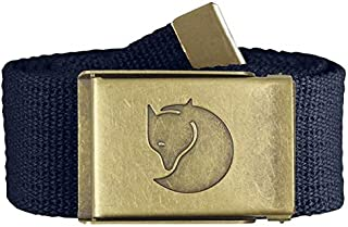 [FOLRAN ] 户外 皮带 Canvas Brass Belt 4cm 长120cm 77297 [男士] 藏青色 EU ONE SIZE (FREE サイズ)