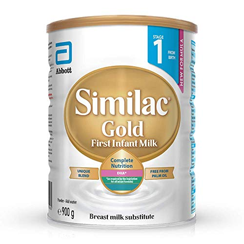 Similac Gold Palm Oil free First Infant Milk, 900 g