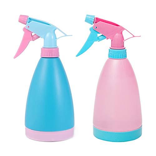 Botellas pulverizadoras,Pulverizador,Botellas de botella de spray,Pulverizador para Plantas,Botella de spray,Pulverizador Agua,Rociador de agua,Spray Plástico,Pulverizador plantas (Azul + rosa)