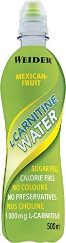 Weider L-Carnitine Water, Frutti Messicani, 500 ml