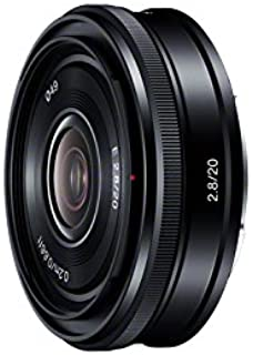 Sony SEL-20F28 E-Mount 20mm F2.8 Prime Fixed Lens