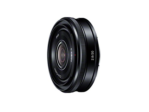 The 20mm wide-angle Sony lens for E-mount cameras