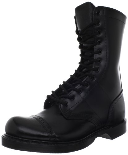 """Corcoran Men's 10"""" Leather Jump Boots Black"""