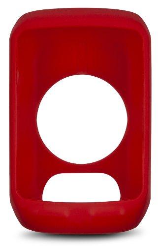 Garmin-Custodia protettiva in Silicone per Edge 510 Bike Computer, colore: nero, silicone, rosso, Edge 510