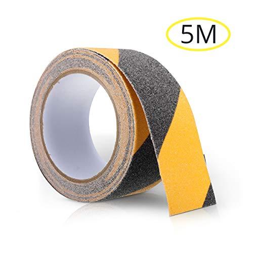 Sicherheitsband 70mm x 20m schwarz//gelb Gefahrenwarnband Klebeband...