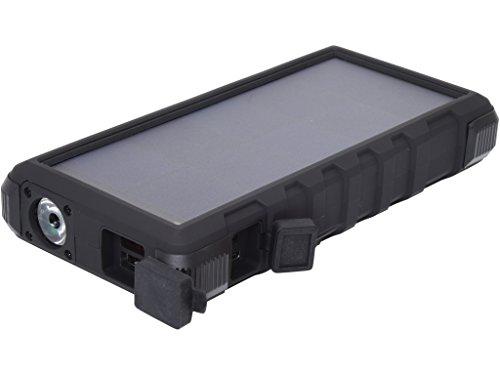 Sandberg USB 24000 mAh tragbares Netzteil, Outdoor Solar Powerbank, für Smartphones, schwarz