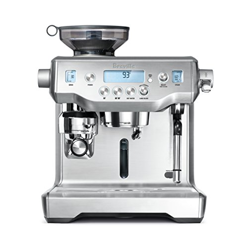 Breville BES980BSS The Oracle Espresso Machine, Brushed Stainless Steel, Silver