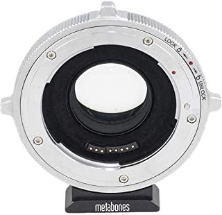 Metabones Canon EF Lens to Micro Four Thirds Camera Adapter, T CINE Speed Booster Ultra 0.71x Magnification (Fifth Generation)