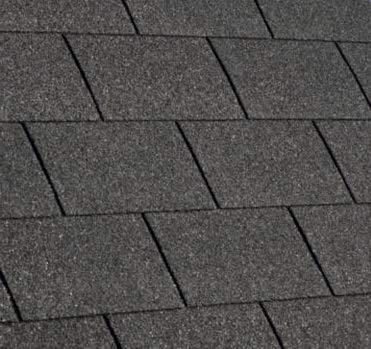Gartenwelt Riegelsberger Premium Bitumenschindeln 2 m² Schwarz mit Glasvlieseinlage Dachschindeln Schindeln Rechteck 14 Stück