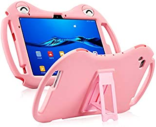 Jamie fro Huawei Tablet T5 10.1 Silicone Case AGS2-W09 Protective Case 360 ° Full Surround Shatterproof Cartoon Children L...