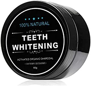 Charcoal Teeth Whitening Powder,Organic Coconut Activated Charcoal Teeth Whitening, Organic Safe Effective Whitener Solution for Stronge