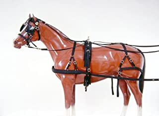 single horse driving harness