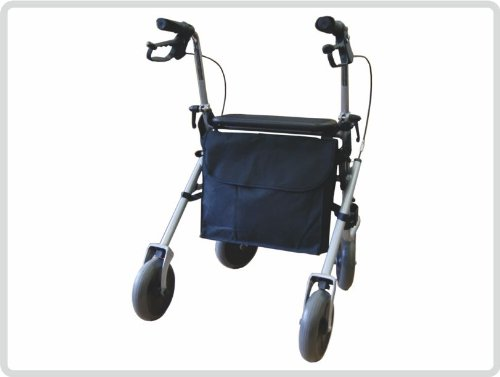 Rollatortasche, Tasche, Einkauftasche, Tragetasche, Farbe: schwarz *Top Qualität zum Top Preis*