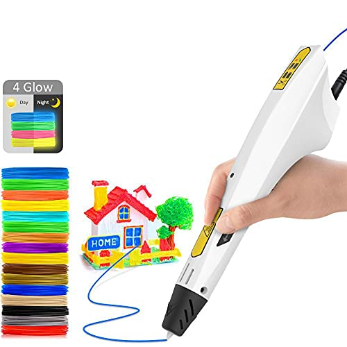3D Printing Pen,DigiHero Intelligent 3D Printer Drawing Pen Compatible with...